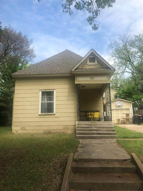 927 W Day Street, Denison, TX 75020 (MLS #14561567) :: The Mauelshagen Group