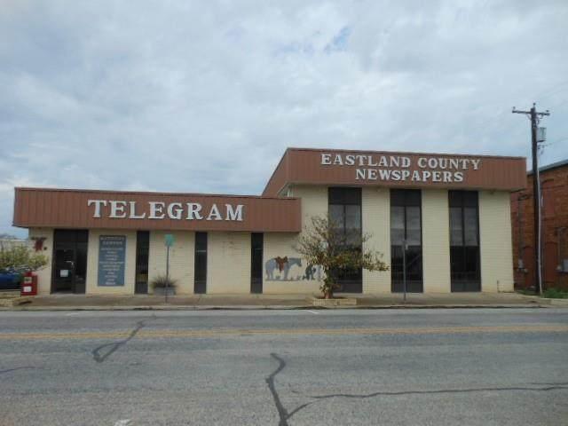 215 S Seaman Street, Eastland, TX 76448 (MLS #14567072) :: Robbins Real Estate Group