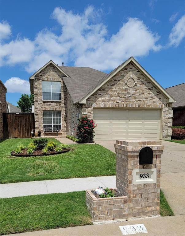 933 Highgate Drive, Lewisville, TX 75067 (MLS #14569299) :: Wood Real Estate Group