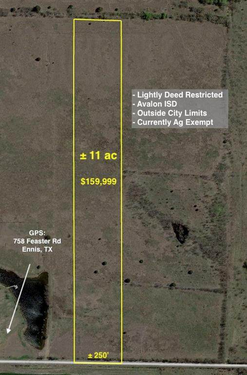 11ac Feaster Road, Ennis, TX 75119 (MLS #14569532) :: The Krissy Mireles Team