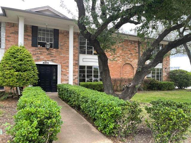 8059 Meadow Road #101, Dallas, TX 75231 (MLS #14570609) :: Justin Bassett Realty