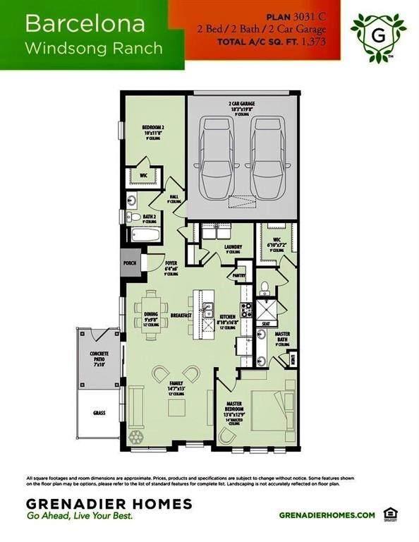 3701 White Clover Lane, Prosper, TX 75078 (MLS #14576716) :: The Good Home Team