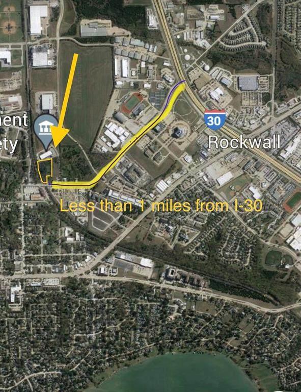 00 Townsend Boulevard, Rockwall, TX 75087 (MLS #14578088) :: Premier Properties Group of Keller Williams Realty