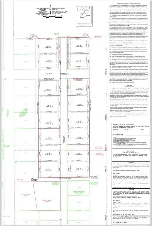 lot 32 Fleitman Dr, Muenster, TX 76252 (MLS #14583097) :: Real Estate By Design