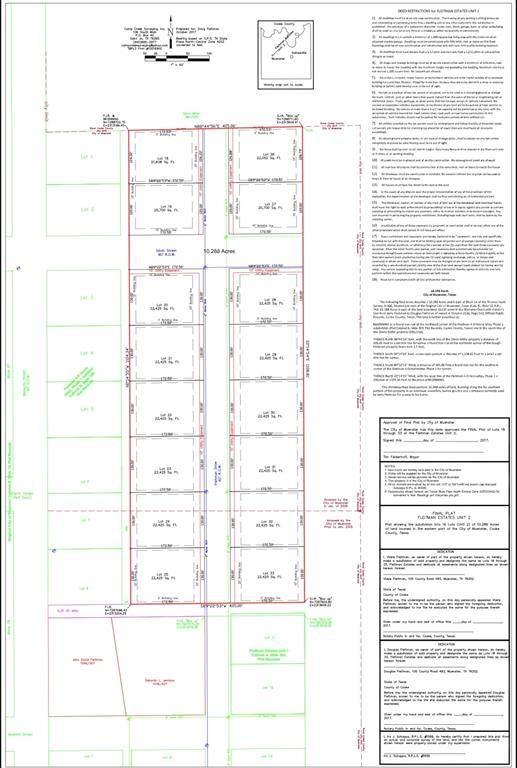 Lot 23 Fleitman Dr, Muenster, TX 76252 (MLS #14583278) :: Real Estate By Design