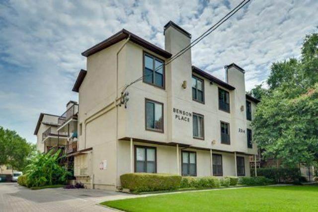 3314 Douglas Avenue #104, Dallas, TX 75219 (MLS #14600291) :: EXIT Realty Elite