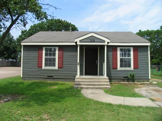 315 Jannie Street, Denton, TX 76209 (MLS #14600816) :: Team Hodnett