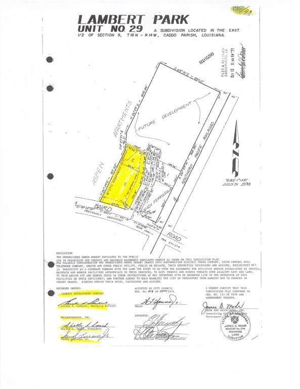 TBD Ferrara Drive, Shreveport, LA 71118 (MLS #14605426) :: Robbins Real Estate Group