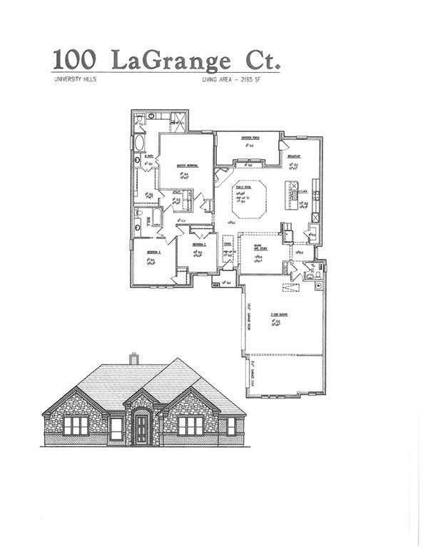 100 Lagrange Court, Weatherford, TX 76088 (MLS #14606106) :: Craig Properties Group