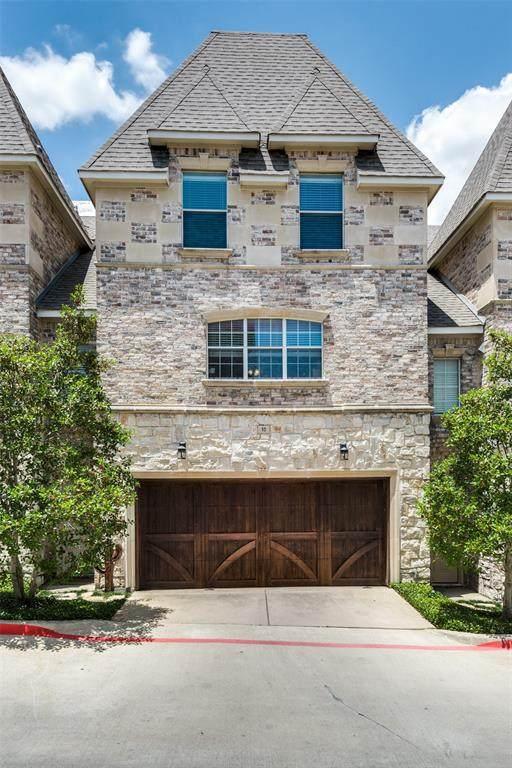 2700 Club Ridge Drive #10, Lewisville, TX 75067 (MLS #14608436) :: The Property Guys