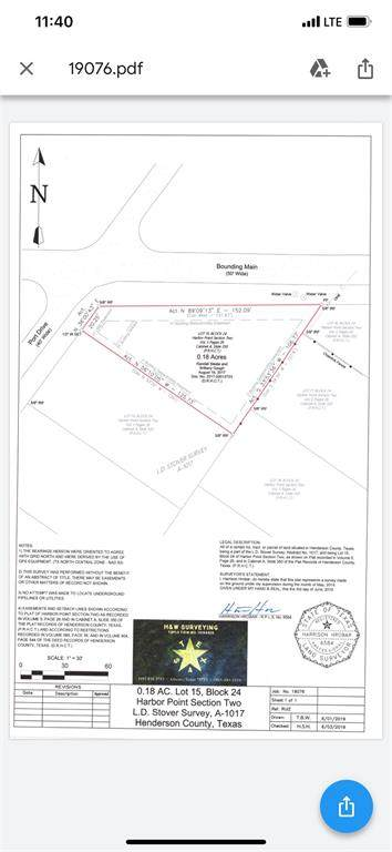 239 Seacraft Drive, Gun Barrel City, TX 75156 (MLS #14621525) :: Real Estate By Design