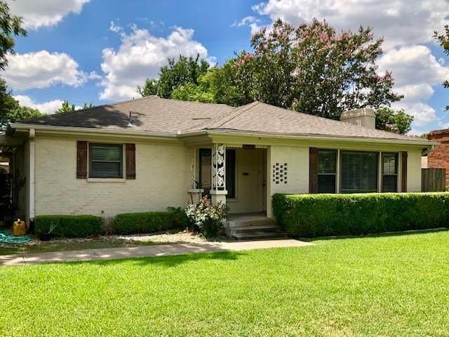 3301 Northwest Parkway, University Park, TX 75225 (MLS #14623957) :: Wood Real Estate Group