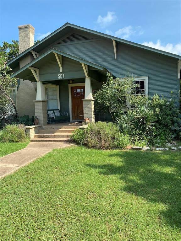 503 E Bridge Street, Granbury, TX 76048 (MLS #14628944) :: Real Estate By Design
