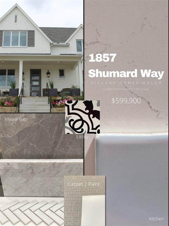 1857 Shumard, Fort Worth, TX 76008 (MLS #14631276) :: Wood Real Estate Group