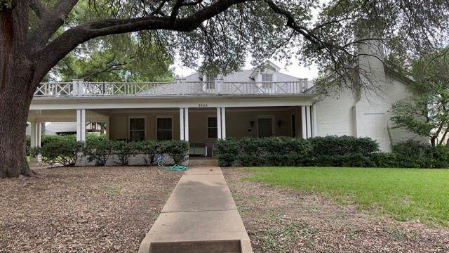 2426 Stadium Drive, Fort Worth, TX 76109 (MLS #14633575) :: Real Estate By Design
