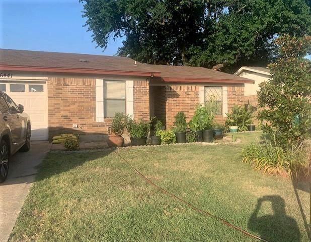 6441 Macarthur Drive, Watauga, TX 76148 (MLS #14635131) :: Real Estate By Design
