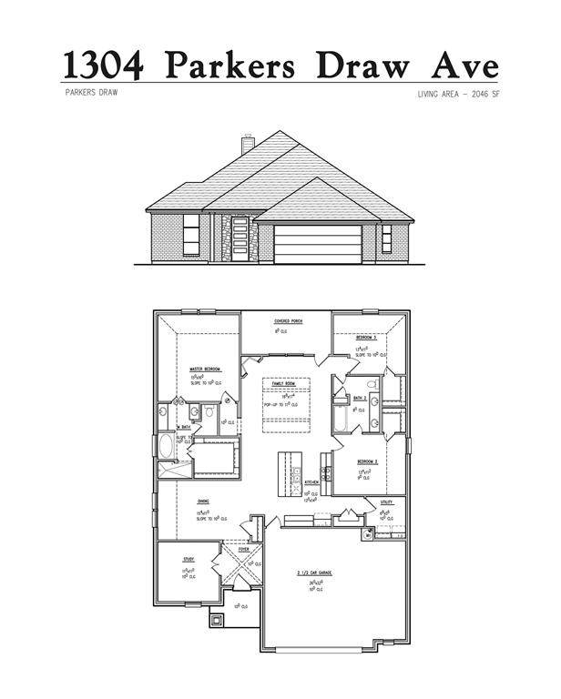 1304 Parkers Draw Avenue, Weatherford, TX 76086 (MLS #14635456) :: The Barrientos Group