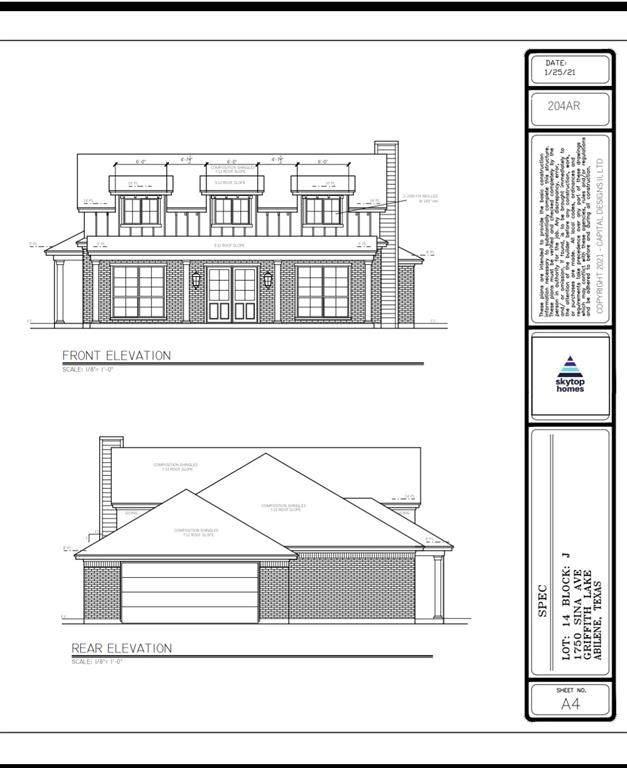 1750 Sina, Abilene, TX 79601 (MLS #14636913) :: Real Estate By Design
