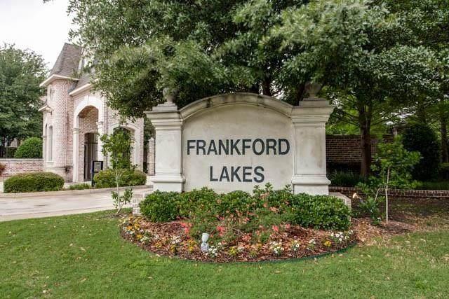 18205 Frankford Lakes Circle, Dallas, TX 75252 (MLS #14642972) :: RE/MAX Landmark