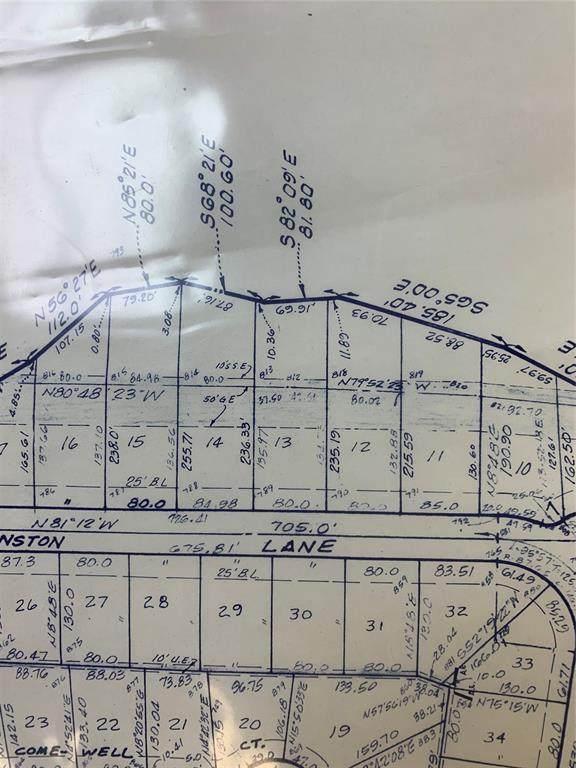 Lot 12 Johnston Lane, Runaway Bay, TX 76426 (MLS #14650801) :: Real Estate By Design