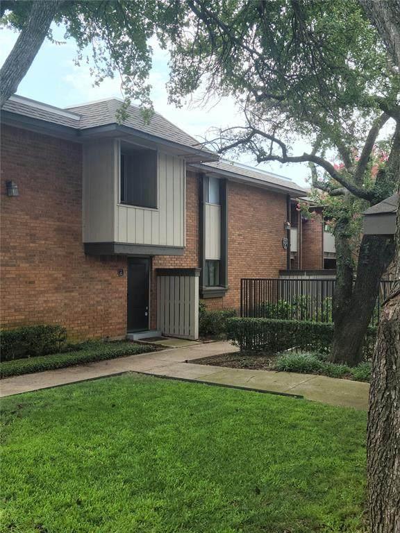 2805 Rio Branco Street 105G, Farmers Branch, TX 75234 (#14653831) :: Homes By Lainie Real Estate Group