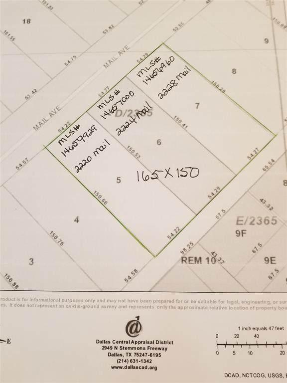2228 Mail Avenue, Dallas, TX 75235 (MLS #14656960) :: Robbins Real Estate Group