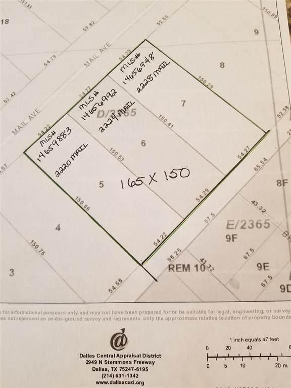 2224 Mail Avenue, Dallas, TX 75235 (MLS #14656992) :: Robbins Real Estate Group