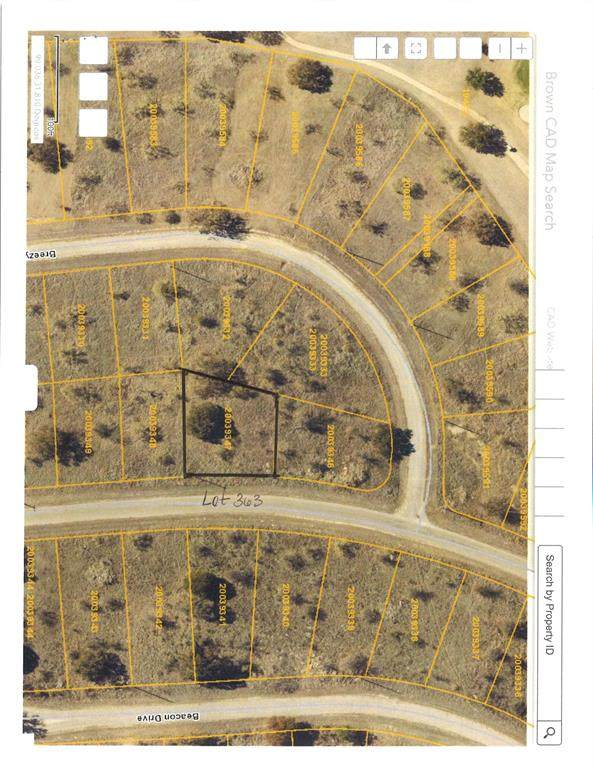 Lot 363 Feather Bay Drive, Brownwood, TX 76801 (MLS #14662360) :: Frankie Arthur Real Estate