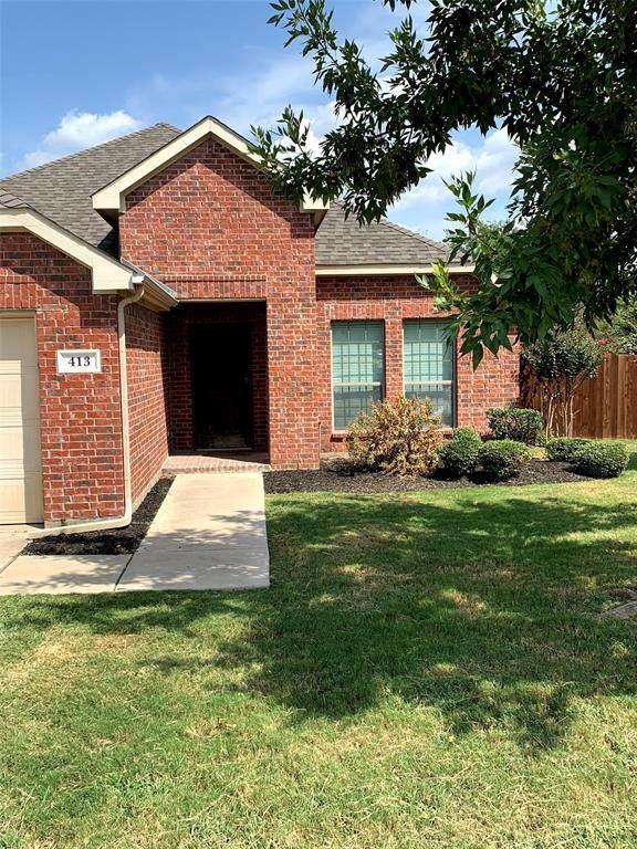 413 Northbrook Avenue, Oak Point, TX 75068 (MLS #14668964) :: Lisa Birdsong Group | Compass