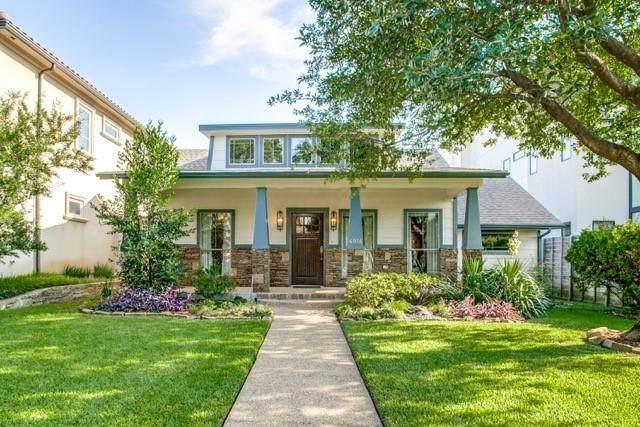 4914 Purdue Avenue, Dallas, TX 75209 (MLS #14670457) :: Lisa Birdsong Group   Compass