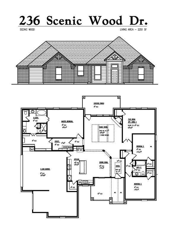 236 Scenic Wood Drive, Reno, TX 76020 (MLS #14672304) :: Real Estate By Design