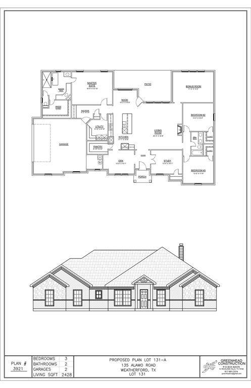 135 Alamo Road, Weatherford, TX 76088 (MLS #14672358) :: Real Estate By Design