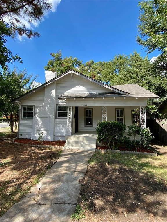 2551 Brandon Street, Dallas, TX 75211 (MLS #14673428) :: Real Estate By Design
