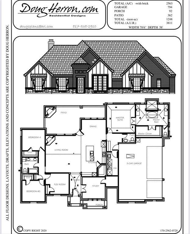 4009 Overlook Way, Weatherford, TX 76085 (MLS #14675646) :: The Hornburg Real Estate Group