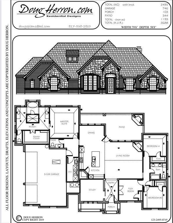 4005 Overlook Way, Weatherford, TX 76085 (MLS #14675668) :: The Hornburg Real Estate Group