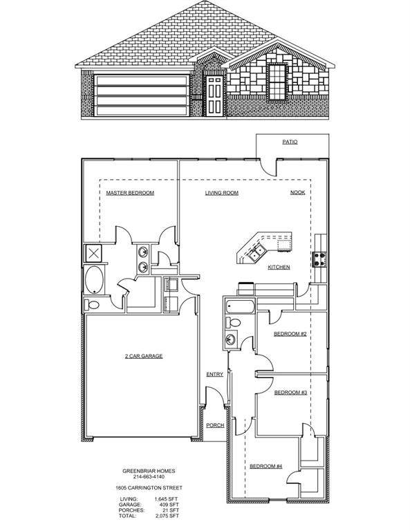 1605 Carrington Street, Mckinney, TX 75069 (MLS #14675840) :: Real Estate By Design