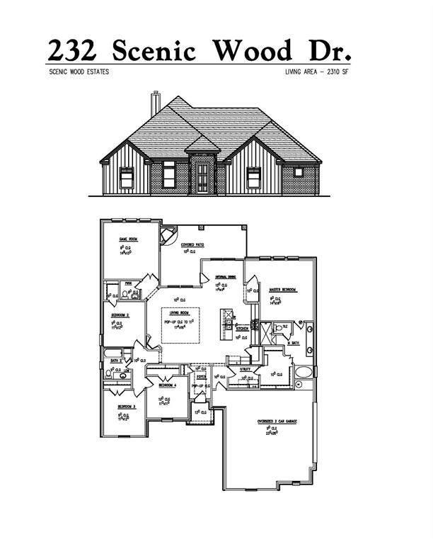 232 Scenic Wood Drive, Reno, TX 76020 (MLS #14676165) :: The Chad Smith Team