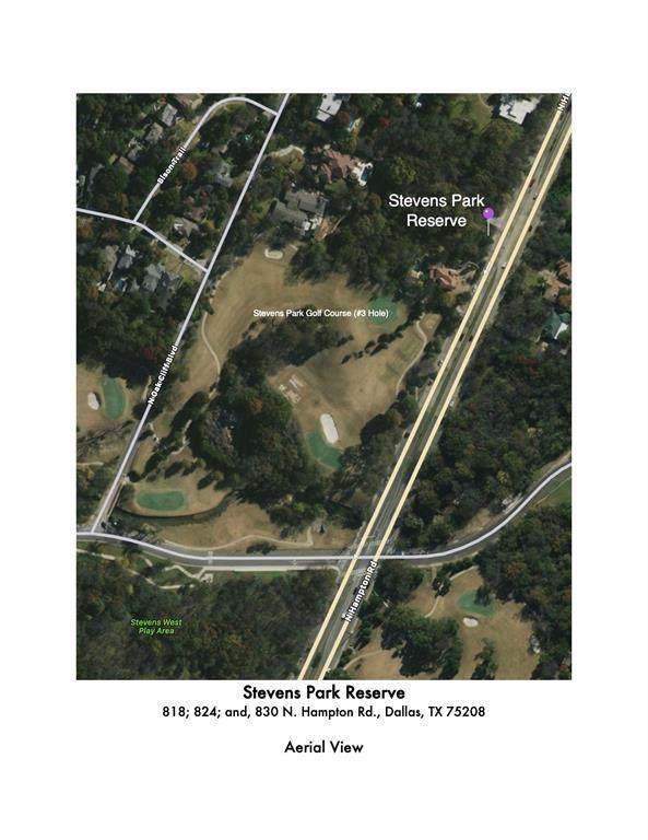 830 N Hampton Road, Dallas, TX 75208 (MLS #14679974) :: Craig Properties Group