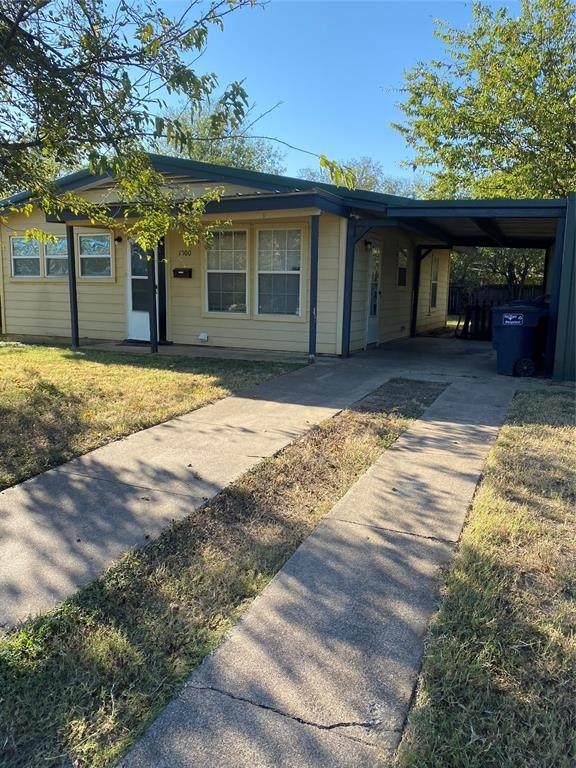 1500 Michael Street, Fort Worth, TX 76106 (MLS #14686022) :: Craig Properties Group