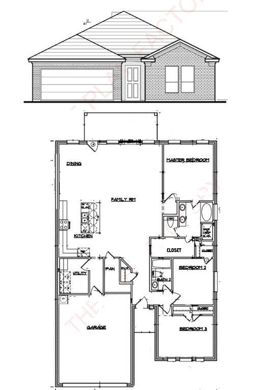 2221 Angelina Street, Granbury, TX 76048 (MLS #14694247) :: Team Hodnett