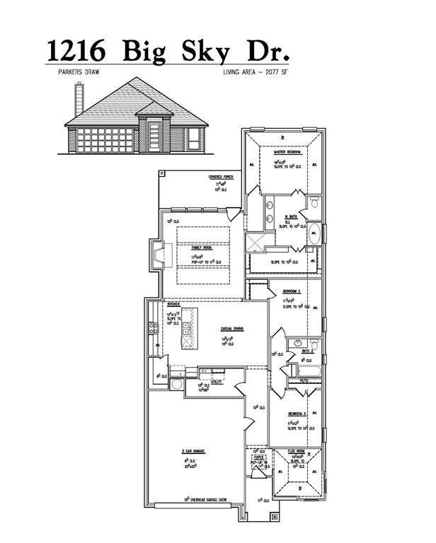 1216 Big Sky Drive, Weatherford, TX 76086 (MLS #14694441) :: Trinity Premier Properties