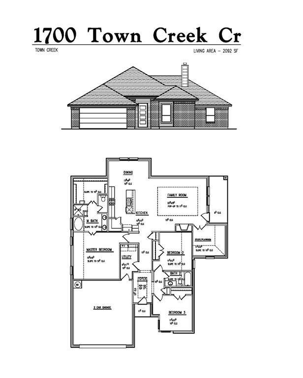 1700 Town Creek Circle, Weatherford, TX 76086 (MLS #14697939) :: The Mitchell Group