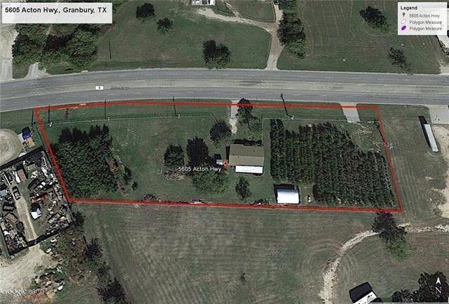 5605 Acton Highway, Granbury, TX 76049 (MLS #13792612) :: Team Hodnett