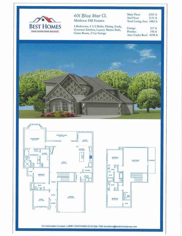 401 Blue Star Court, Burleson, TX 76028 (MLS #13877543) :: Team Hodnett