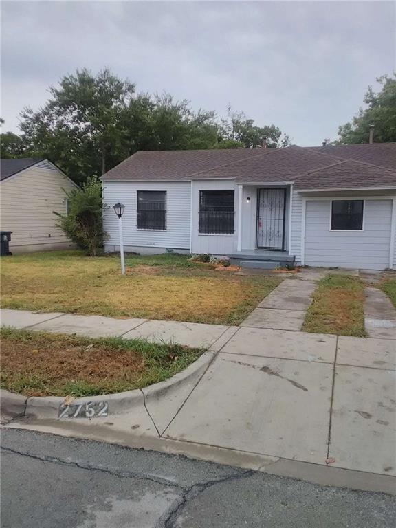 2752 Custer Drive, Dallas, TX 75216 (MLS #13906907) :: Team Hodnett