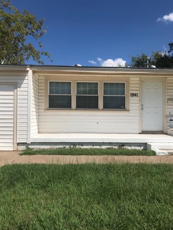 1941 Barrow Street, Abilene, TX 79605 (MLS #13939086) :: RE/MAX Landmark
