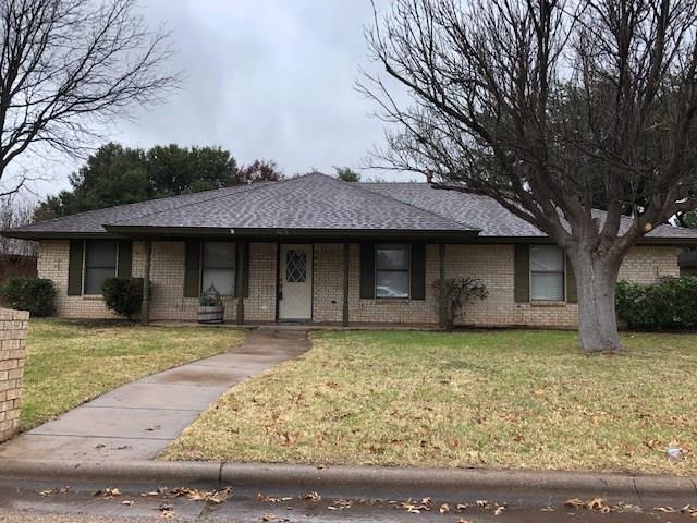 3818 Westchester Drive, Abilene, TX 79606 (MLS #13982406) :: Robbins Real Estate Group