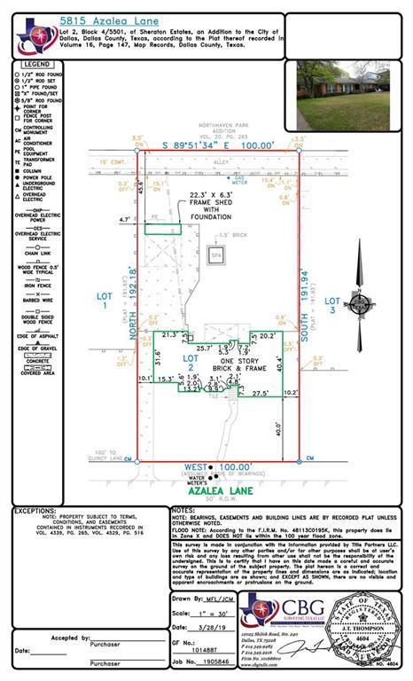 5815 Azalea Lane, Dallas, TX 75230 (MLS #14042525) :: Robbins Real Estate Group