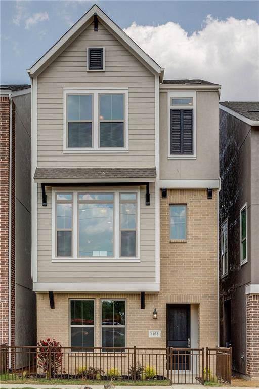 1032 Manacor Lane, Dallas, TX 75212 (MLS #14102046) :: The Real Estate Station