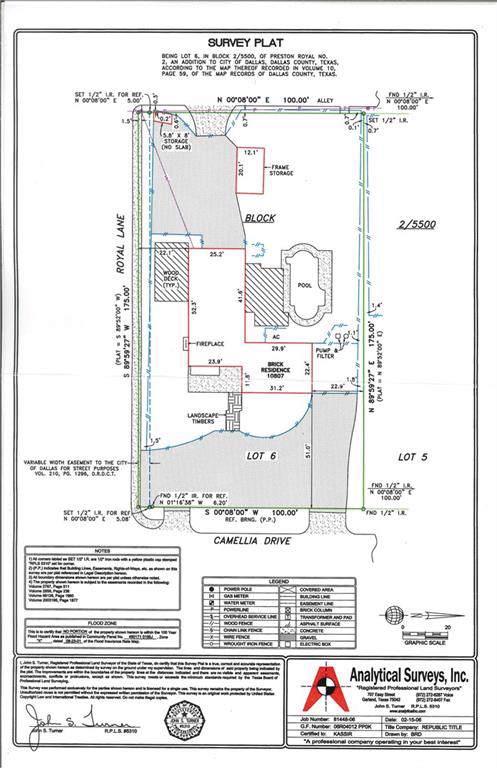 10807 Camellia Drive, Dallas, TX 75230 (MLS #14125344) :: Robbins Real Estate Group